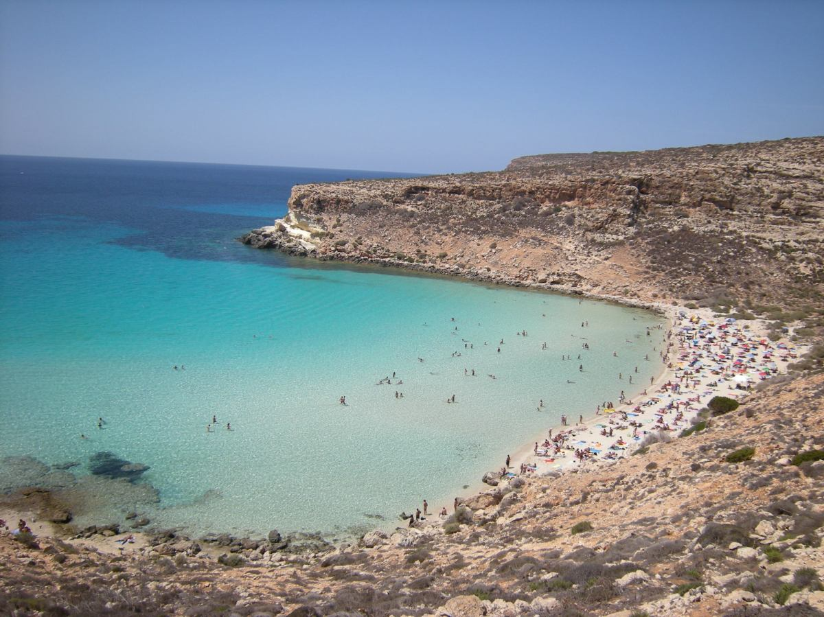 Lampedusa Italy  city images : ... Rabbit Beach in Lampedusa, Italy | www.fashion lifestyle.wordpress.com