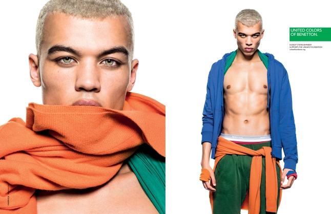 DUDLEY O'SHAUGHNESSY, British actor and model, and former national welterweight champion, in the United Colors of Benetton 2013 Spring-Summer Campaign (www.benettongroup.com)