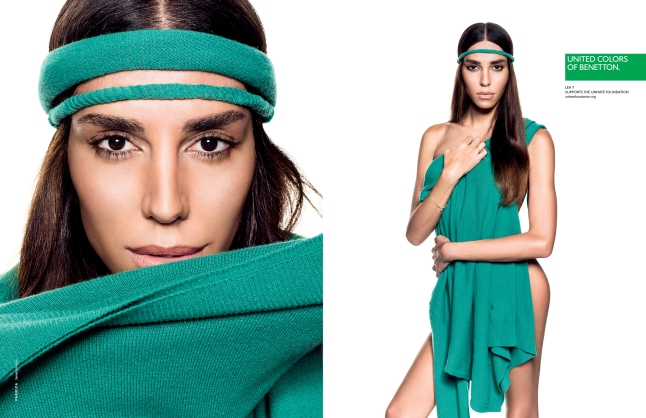 Lea T in the United Colors of Benetton Spring/Summer 2013 Campaign (Courtesy: www.benettongroup.com)