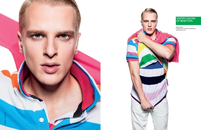 Mario Galla in the United Colors of Benetton 2013 Spring-Summer Campaign (www.benettongroup.com)