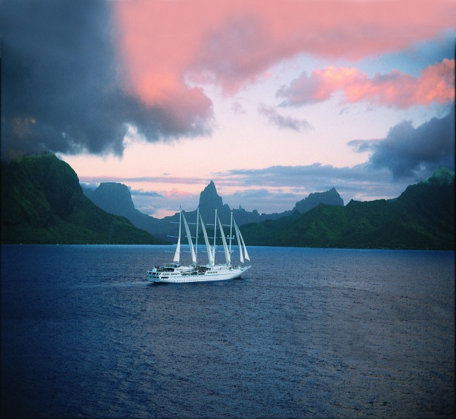 Wind Spirit will say 'ia ora na' (Hello) to Tahiti in May of 2014.  (PRNewsFoto/Windstar Cruises)