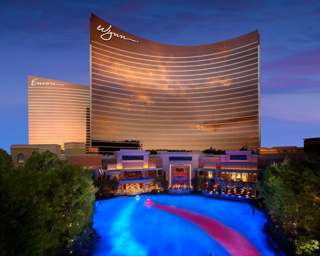WYNN RESORTS WYNN LAS VEGAS: Wynn Las Vegas and Encore Named As 2013 Forbes Five-Star Award Winners.  (PRNewsFoto/Wynn Resorts)