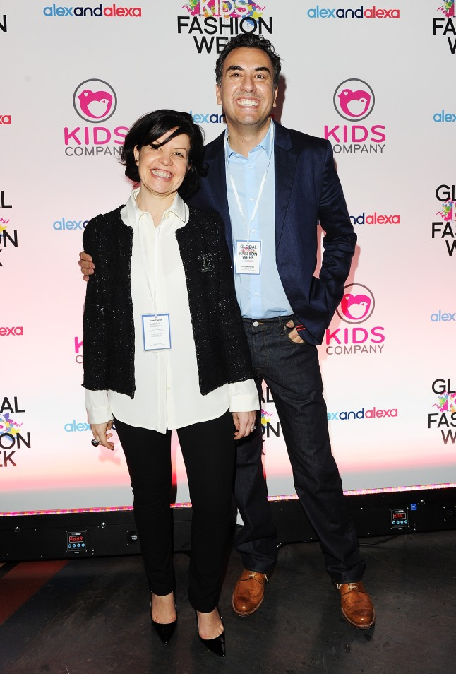 Global Kids Fashion Week AW13 Media And VIP Show - Arrivals: Alex Theophanous and Alexa Till, Founders of AlexandAlexa.com attends the Global Kids Fashion Week AW13 media and VIP show at The Freemason's Hall on March 19, 2013 in London, England. (Photo by Dave M. Benett/Getty Images for AlexandAlexa.com)