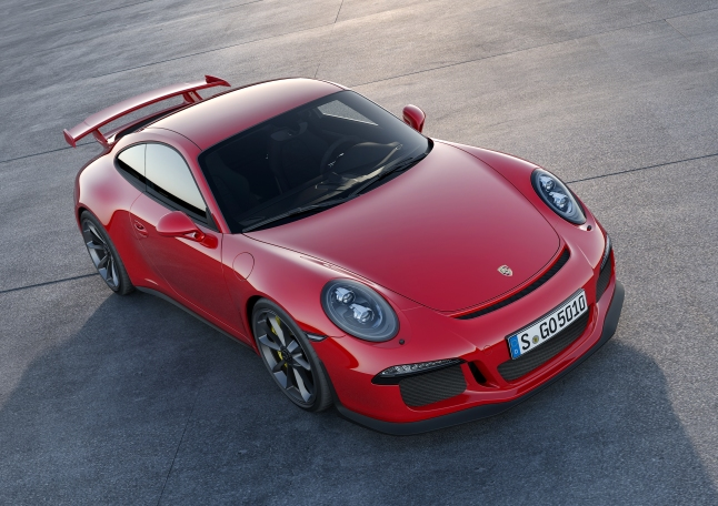 2014 Porsche 911 GT3 (Images Courtesy of Porsche Cars North America, Inc.)