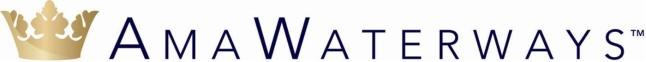 AmaWaterways logo.  (PRNewsFoto/AmaWaterways)