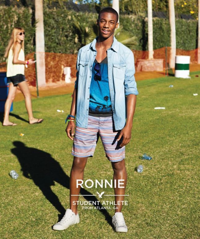 """American Eagle Outfitters Features Real People In Spring 2013 """"Project Live Your Life"""" Campaign.  (PRNewsFoto/American Eagle Outfitters, Inc.)"""