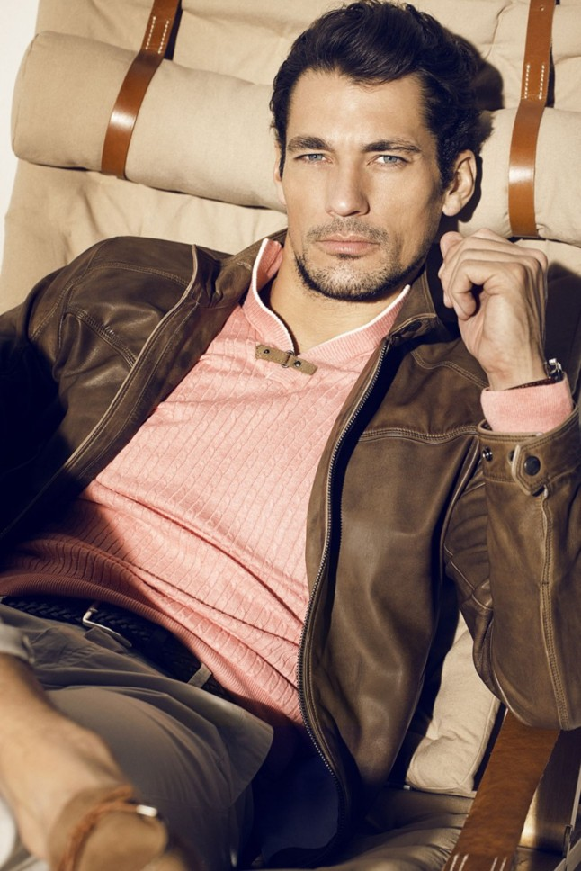 David Gandy is a Vision of Elegance for Massimo Dutti's NYC Lookbook