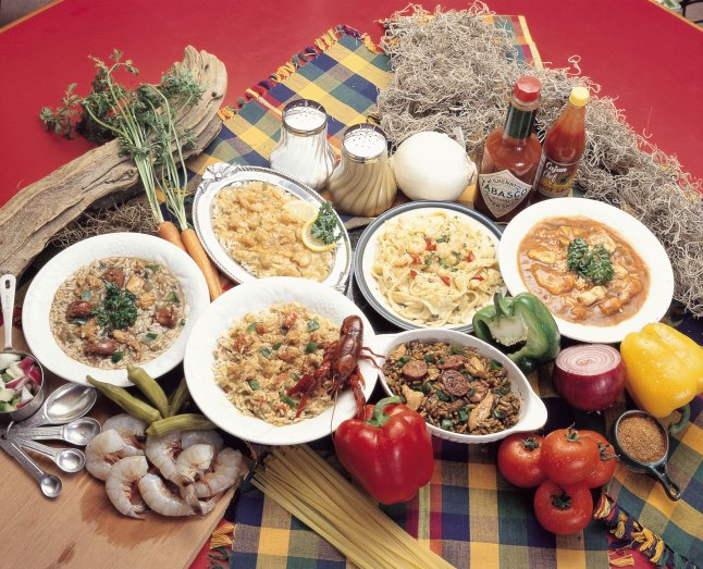 French Creole Food