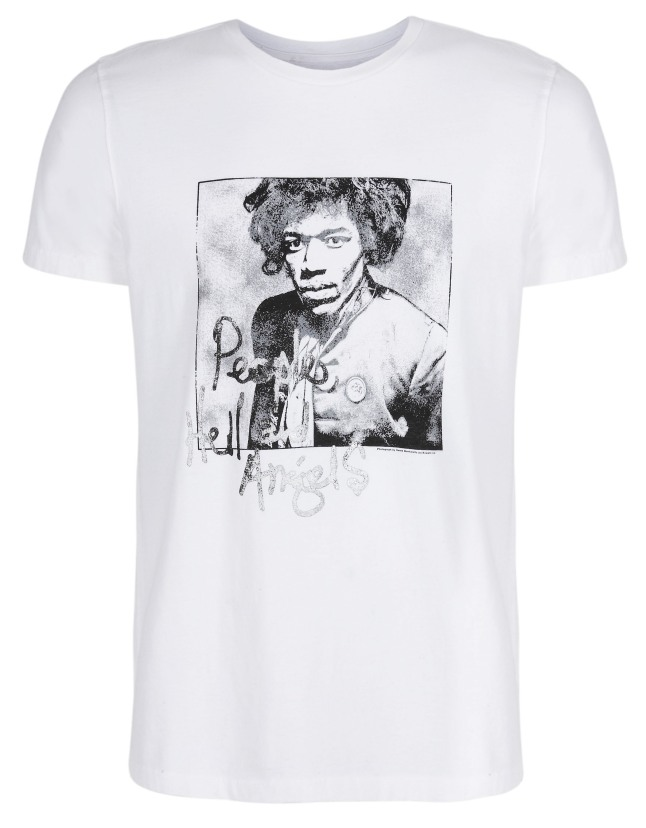 Gap Launches Limited-Edition Jimi Hendrix T-Shirts.  (PRNewsFoto/Gap Inc.)