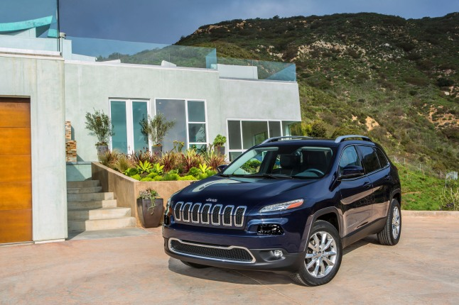 All-new 2014 Jeep Cherokee Limited model.  (PRNewsFoto/Chrysler Group LLC)