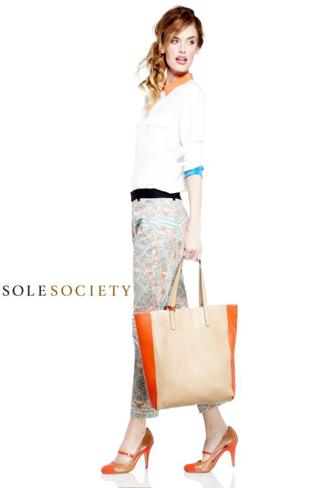 Sole Society Ainsley Tote www.solesociety.com.  (PRNewsFoto/Sole Society)