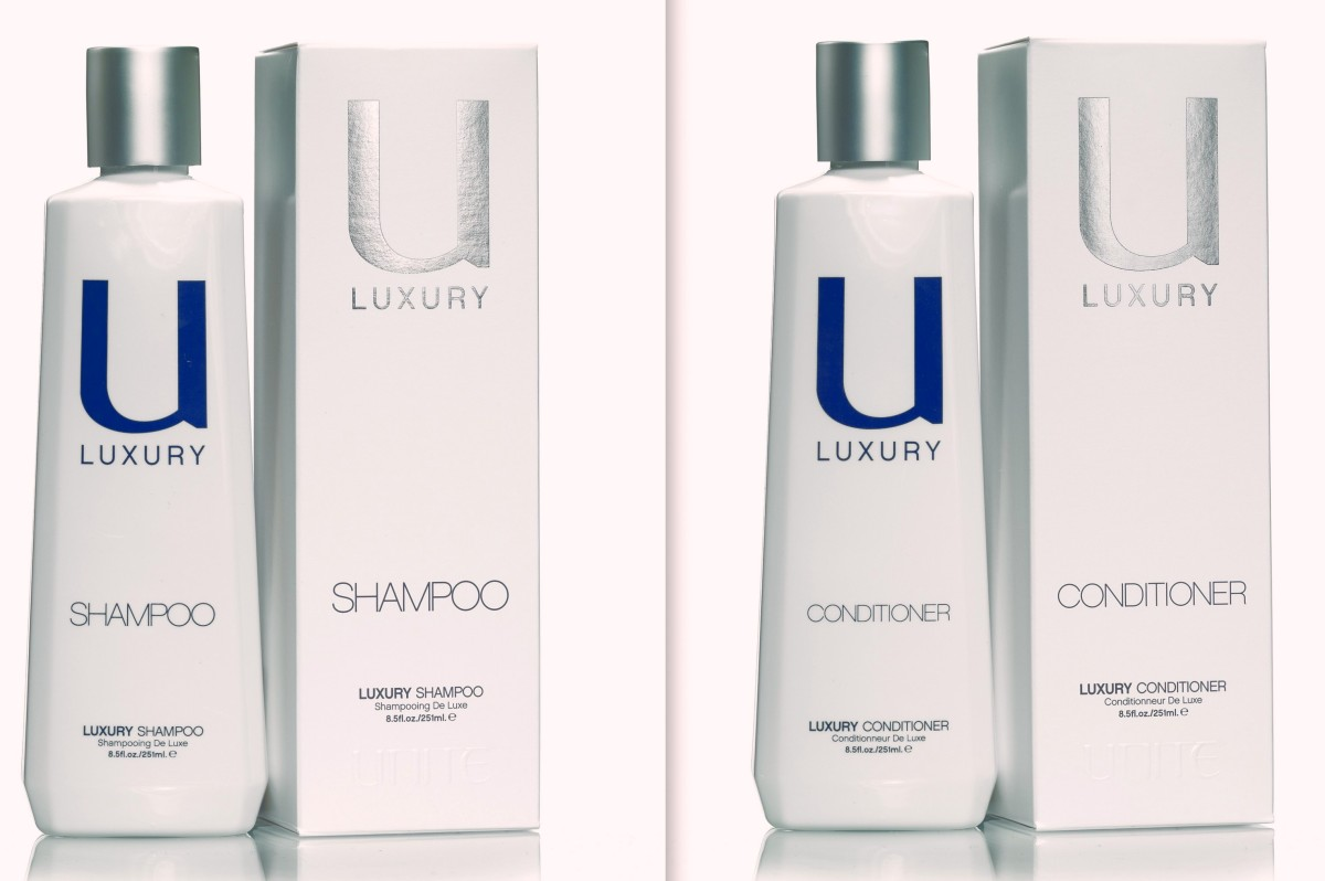 UNITE Hair U LUXURY Shampoo and Conditioner. Infused with Crushed ...