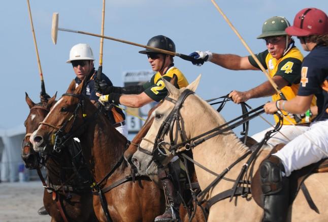 AMG-World Cup Polo 2011 - AMG Miami Beach Polo World Cup action and fun on Miami Beach April 24th, 2011.