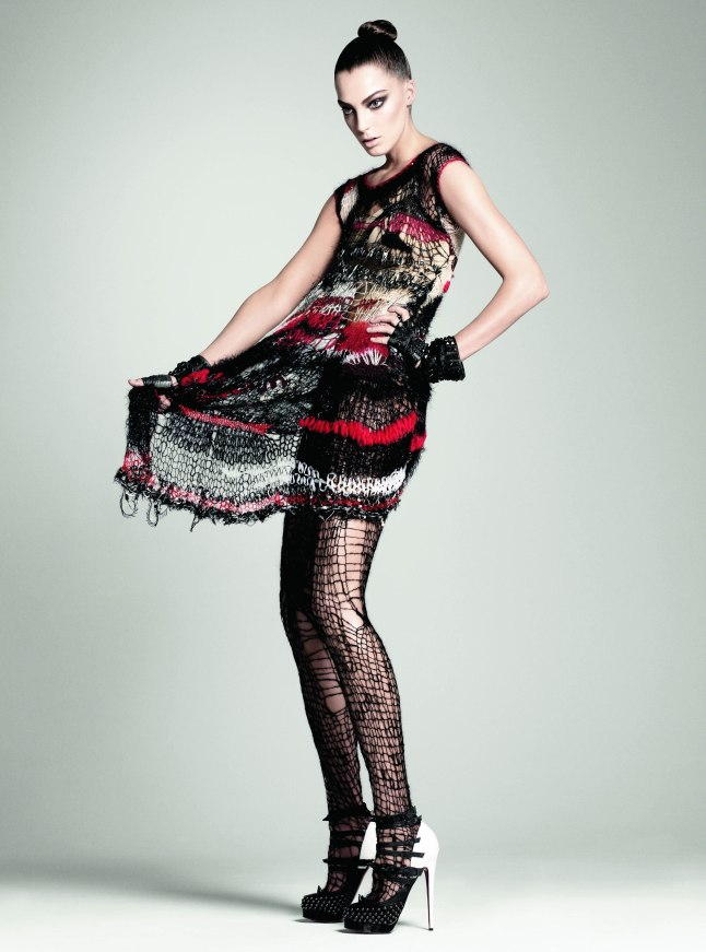 Rodarte (American, founded 2005) Vogue, July 2008 Courtesy of The Metropolitan Museum of Art, Photograph by David Sims