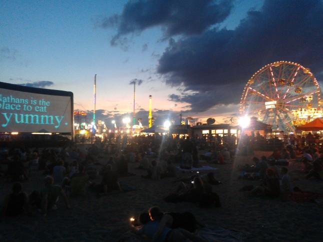 Coney Island Rooftop Films  (Credit: Irwin Seow)