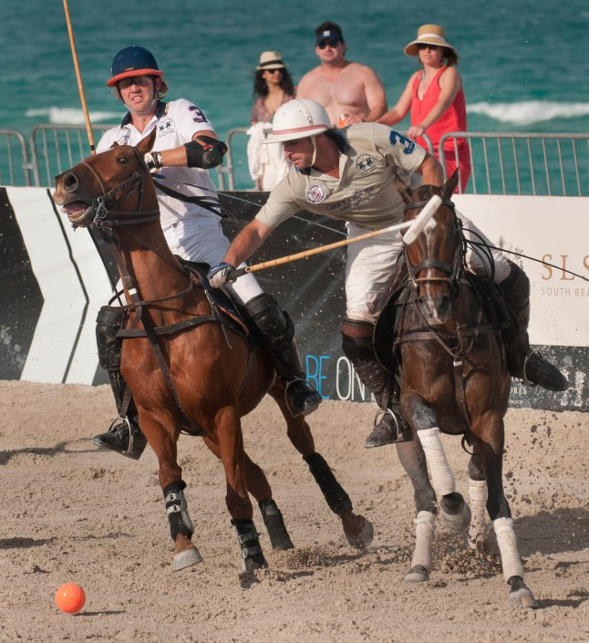 Grey Goose vs SLH in Matchplay on Saturday, April 27th, at the LA MARTINA MIAMI BEACH POLO WORLD CUP