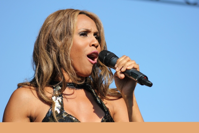 DEBORAH COX performance during 37th Capital Pride Festival at the Main Stage on Pennyslvania Avenue and 3rd Street, NW, Washington DC on Sunday afternoon, 10 June 2012 by Elvert Barnes Photography