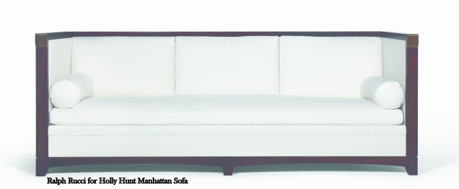 Ralph Rucci for Holly Hunt Collection - Manhattan Sofa