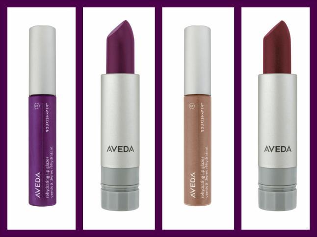 Aveda Heart Lands  Nourish-Mint™ Smoothing Lip Colors &  Nourish-Mint™ Rehydrating Lip Glazes