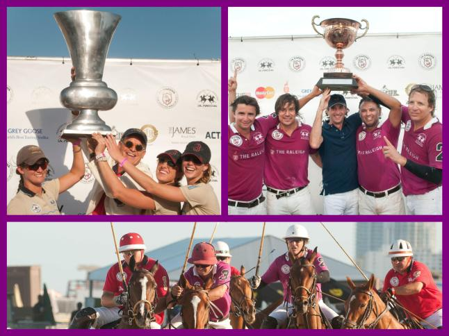 Awards Ceremonies at the MatchPlay at the  2013 LaMartina MIAMI BEACH POLO WORLD CUP IX-1 (Credit: LaMartina)
