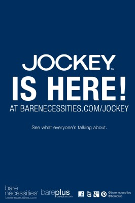 Bare Necessities Teams Up With Jockey to Launch New Online Boutique at BareNecessities.com.  (PRNewsFoto/Bare Necessities)
