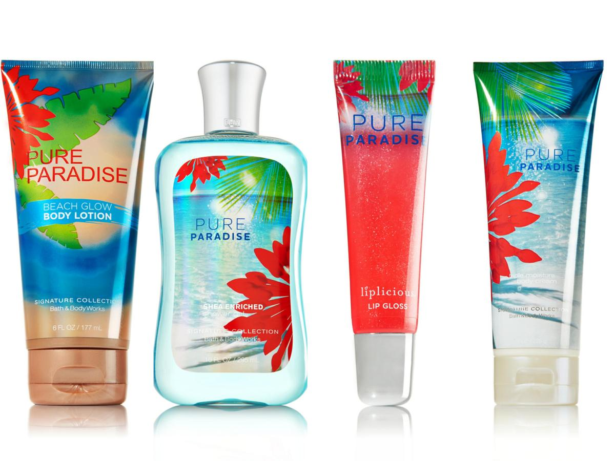 Bath body works pure paradise collection for Bathroom body works