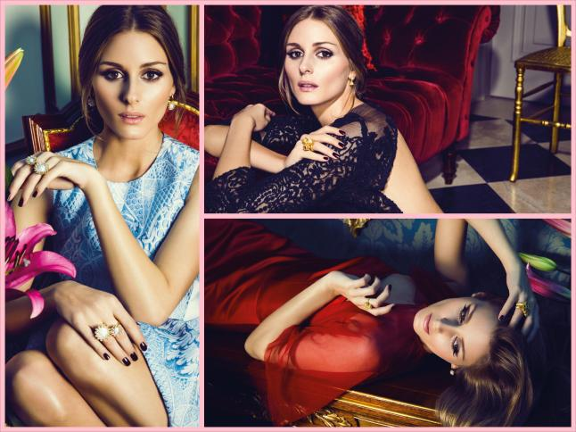 Carrera y Carrera Madrid  spokeswoman Olivia Palermo wearing pieces from the elegant new  Carrera y Carrera collection, Tesoros del Imperio