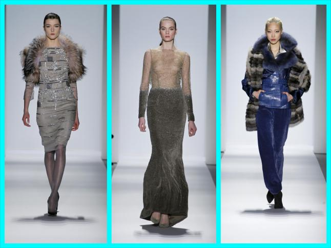 Dennis Basso 2013 Fall-Winter Collection - Images Provided by HL Group