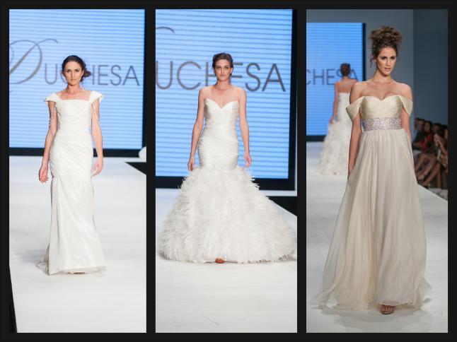Duchesa Bridal Couture by Robin Fleming (USA) (Photo Credit: Inta G. Waylett/Staff Photographer)