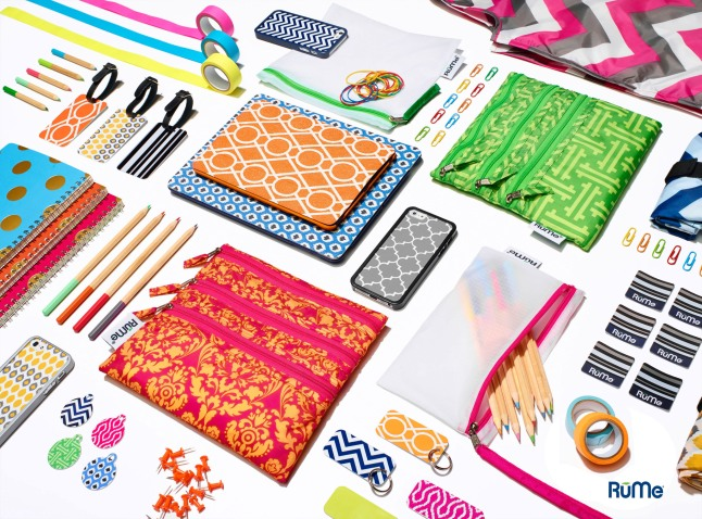 Live life customized with RuMe products. Available in Target stores July 25, 2013.  (PRNewsFoto/RuMe)