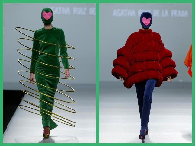 ÁGATHA RUIZ DE LA PRADA 2013 Fall/Winter Collection (Images provided by Getty Images )