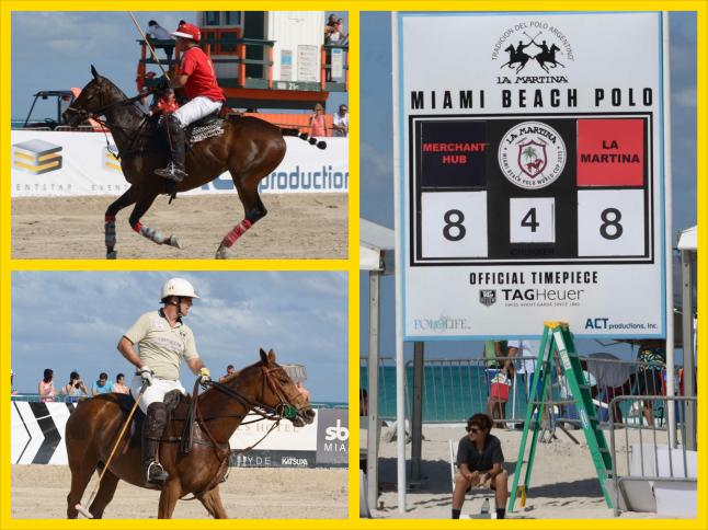 Saturday MatchPlay at the  2013 LaMartina MIAMI BEACH POLO WORLD CUP IX (Credit - Sheldon Baldie)
