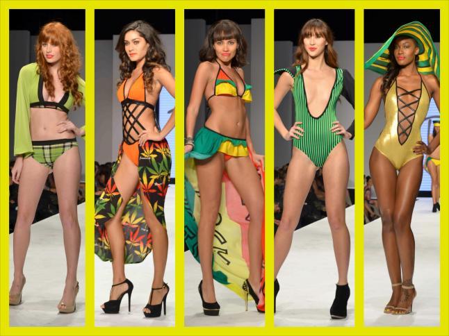 Tantrik Swimwear Collection (Jamaica) (Photo Credit: Sheldon Baldie)