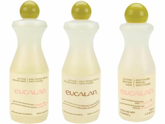 Eucalan No Rinse Delicate Wash Grapefruit and Natural Unscented