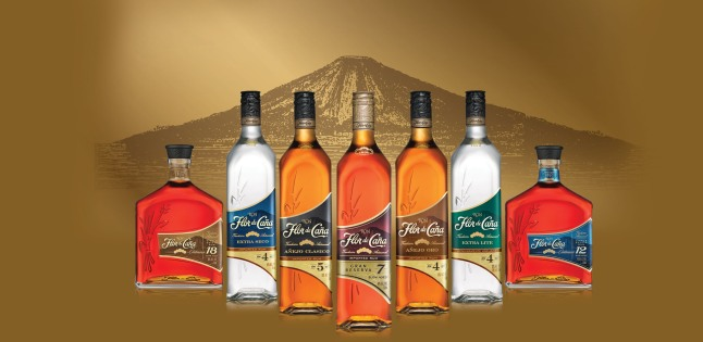 Flor de Cana's striking new look celebrates the slow-aged rum's global growth.  (PRNewsFoto/Flor de Cana)