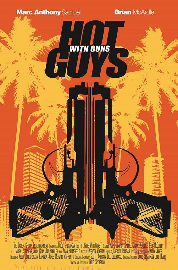 Hot Guys with Guns 2013 movie poster