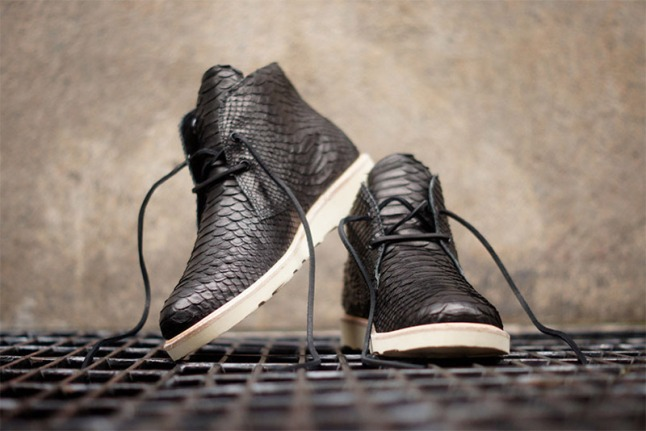 Modern Vice x Cloth  Surgeon Python Chukka, Available Kith Manhattan