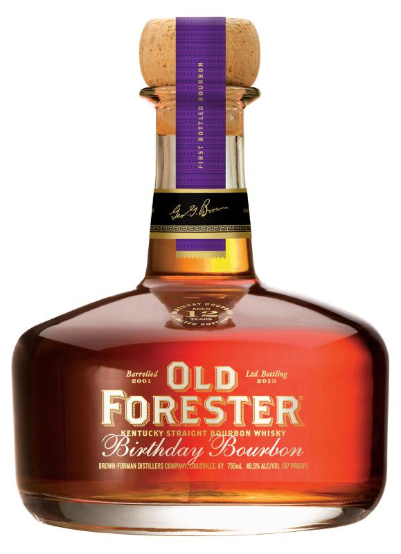 Old Forester, America's First Bottled Bourbon, releases the limited edition Birthday Bourbon this August in honor of its founder, George Garvin Brown.  (PRNewsFoto/Old Forester)