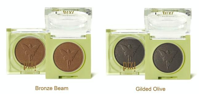 Pixi Fairy Light Solo (Eye Shadows) in Bronze Beam and Gilded Olive