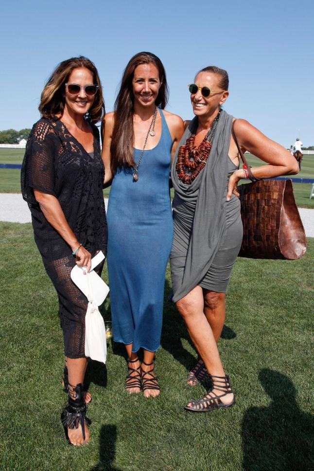 Kelly Klein, Gabby Karan de Felice, Donna Karan.  (PRNewsFoto/Robin Hood Foundation)