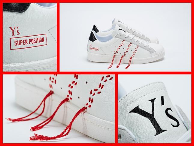 Y's Super Position byYOHJI YAMAMOTO x adidas