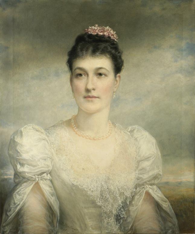 Daniel Huntington (American, 1816 –1906), Mary Gardiner Thompson (1844-1935), 1898. Oil on canvas, 30 x 25 in. ( 76.2 x 63.5 cm ), Bequest of Mary Gardiner Thompson