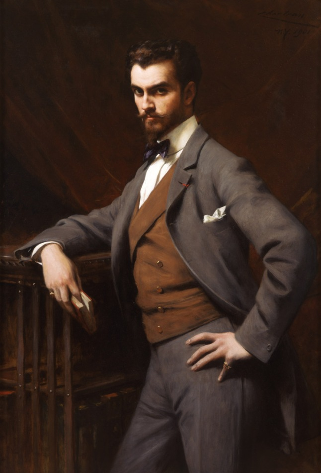 Théobald Chartran (French, 1849 –1907), James Hazen Hyde (1876-1959), 1901, 53 1/4 x 36 in. ( 135.3 x 91.4 cm )frame: 57 1/2 x 41 in. ( 146 x 104.1 cm ), Gift of James Hazen Hyde