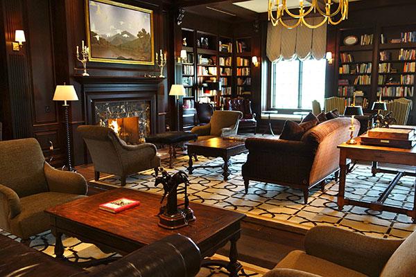 Library at the Salamander Resort & Spa