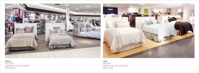 Before and After - Bedding