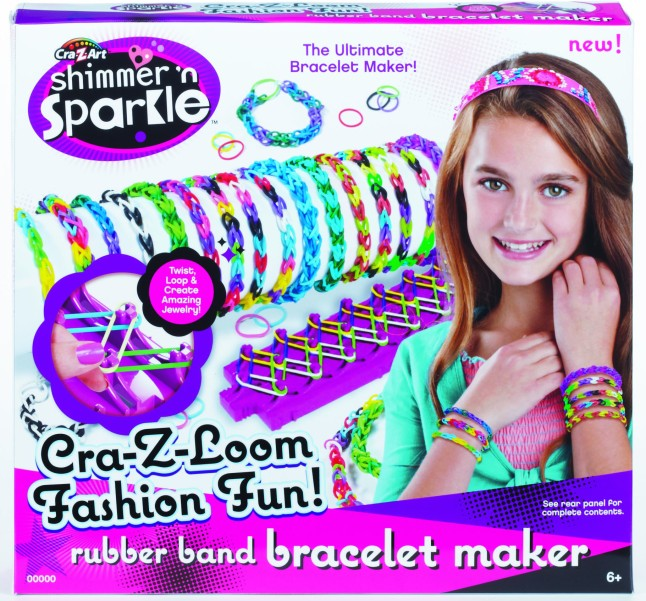 Shimmer N' Sparkle Cra-Z-Loom™ Bracelet Maker from Cra-Z-Art®