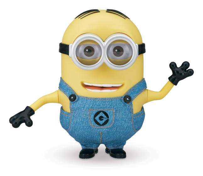 Despicable Me 2 Minion Dave, Agnes and Gru Collector's Edition Figures from Thinkway Toys