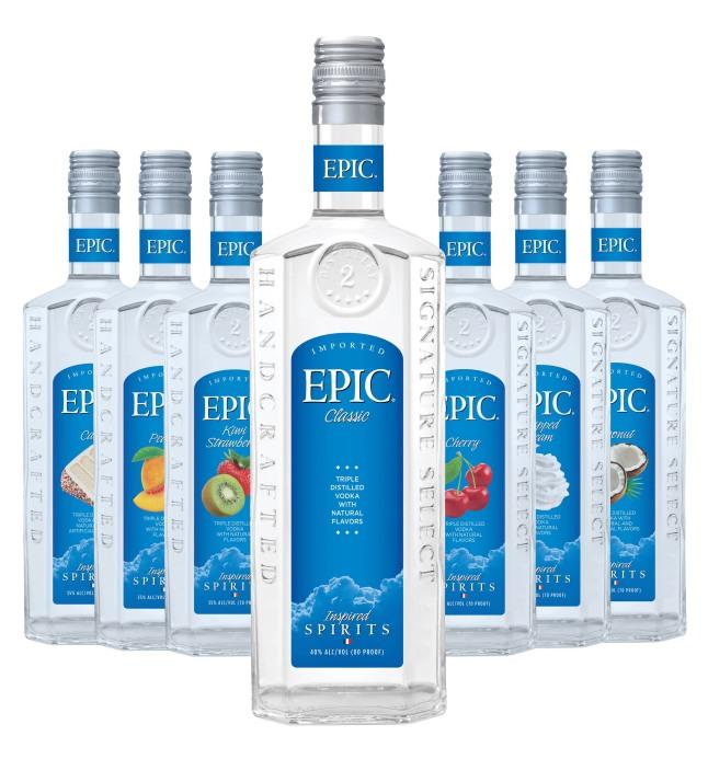 Sazerac Co. Introduces New EPIC Vodka.  (PRNewsFoto/Sazerac Company)