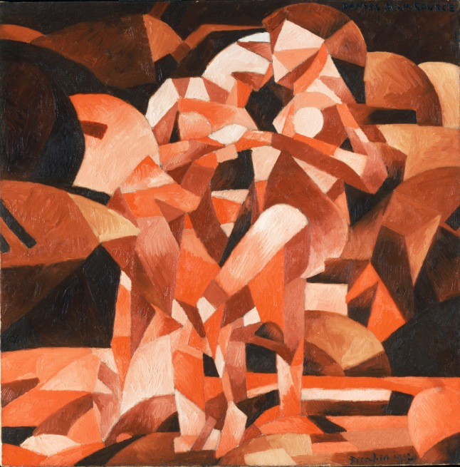 Francis Picabia (French, 1879-1953), Dances at the Spring, 1912. Oil on canvas, 47 7/16 x 47 ½ in. Philadelphia Museum of Art, The Louise and Walter Arensberg Collection, 1950, 1950-134-155. © 2013 Artists Rights Society (ARS), New York / ADAGP, Paris