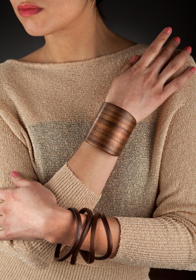 Gustav Reyes Bracelets in Wood